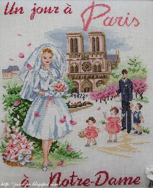 les brodeuses parisiennes, парижские вышивальщицы, атмосфера творчества, veronique enginger, один день в Париже, Нотр-дам
