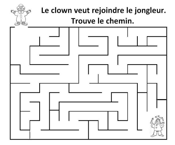 Bevorzugt Le Journal de Chrys: Mon projet CIRQUE en maternelle (2) RE11