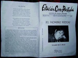 ¡EL HOMBRE FIESTA! placa de 8 poemas de mi autoría.