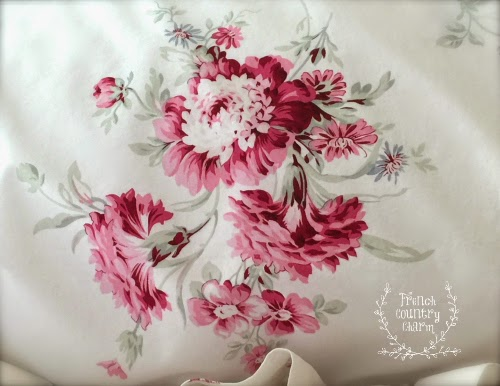 Mixing Sunbleached Floral Simply Shabby Chic Bedding Set With Antique French Linenswhat Could Be Better