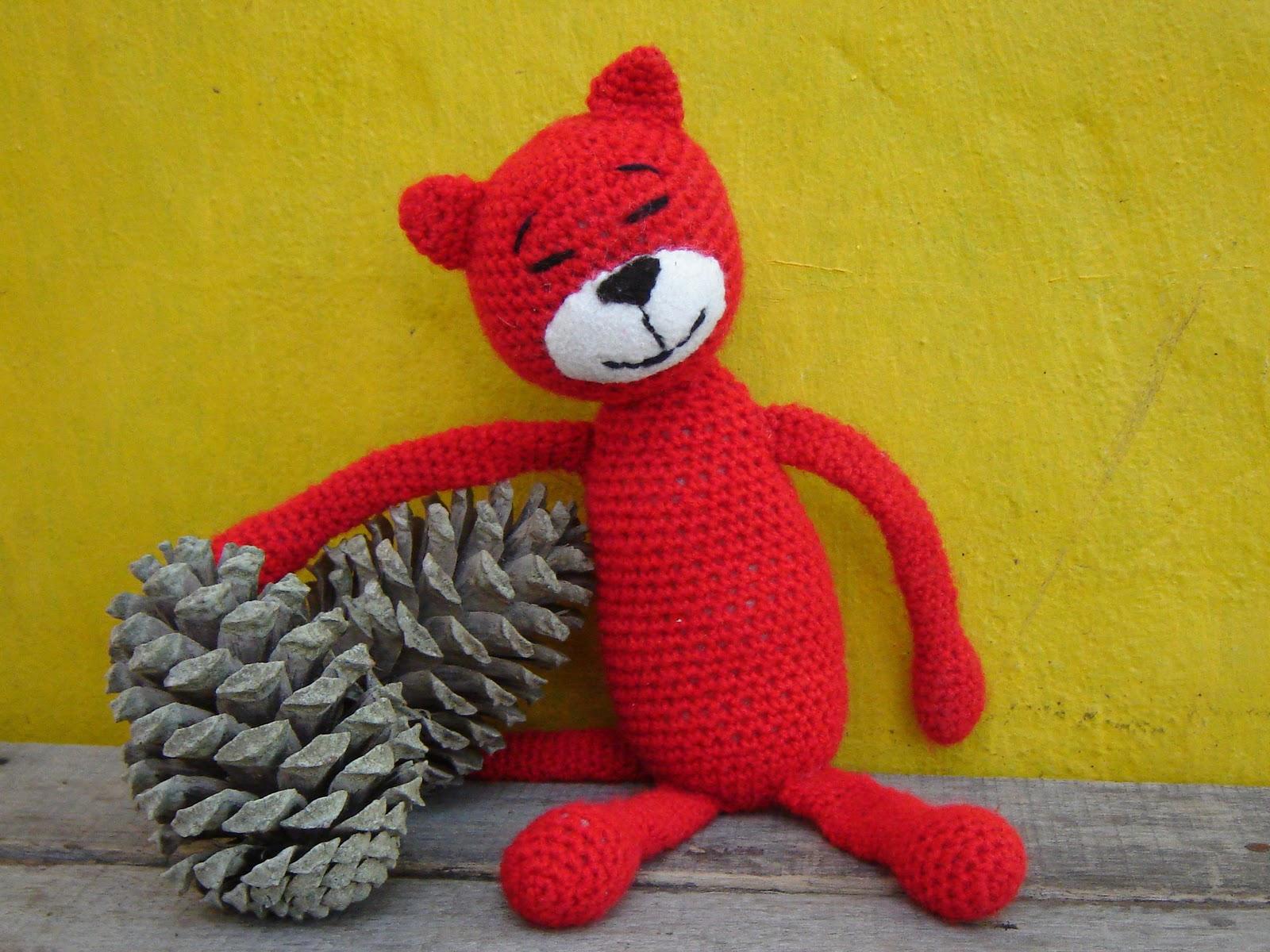 Amigurumi Gato Paso A Paso : La crochetnauta : mi gatito amineko