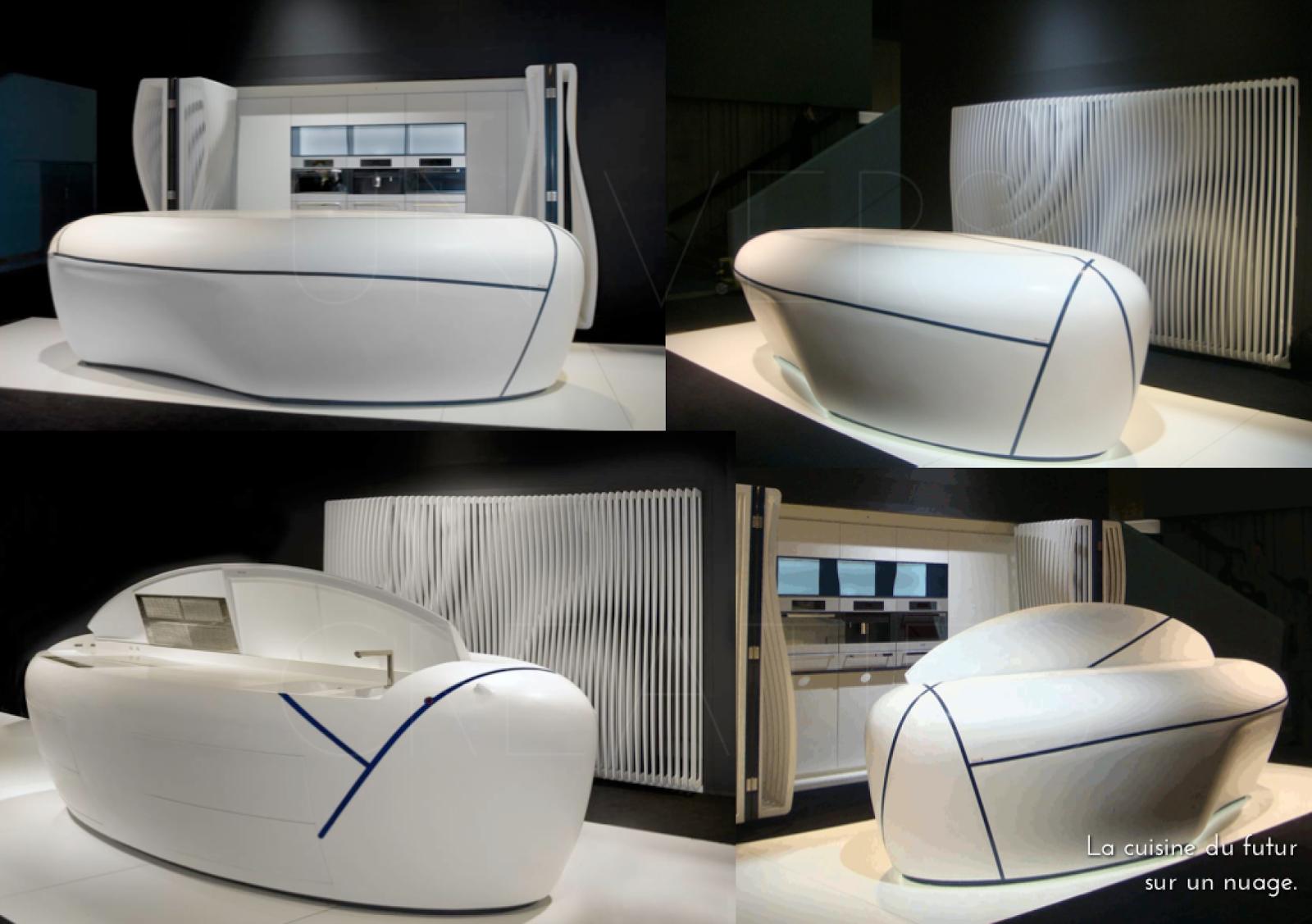 univers creatifs la cuisine du futur sur un nuage. Black Bedroom Furniture Sets. Home Design Ideas
