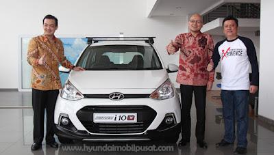 Hyundai Grand i10 X, Model Crossover Pertama di Segmen City Car !!