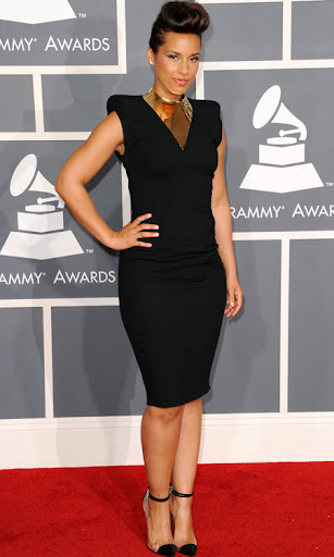 Алиша Кийс наградите Грами 2012