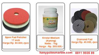 harga kristal / chemical poles marmer