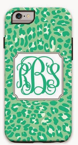 personalized leopard phone cover
