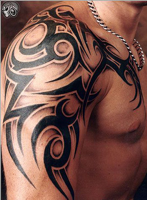 Tumblr Tattoo Tribal Tattoos For Men Shoulder And Arm