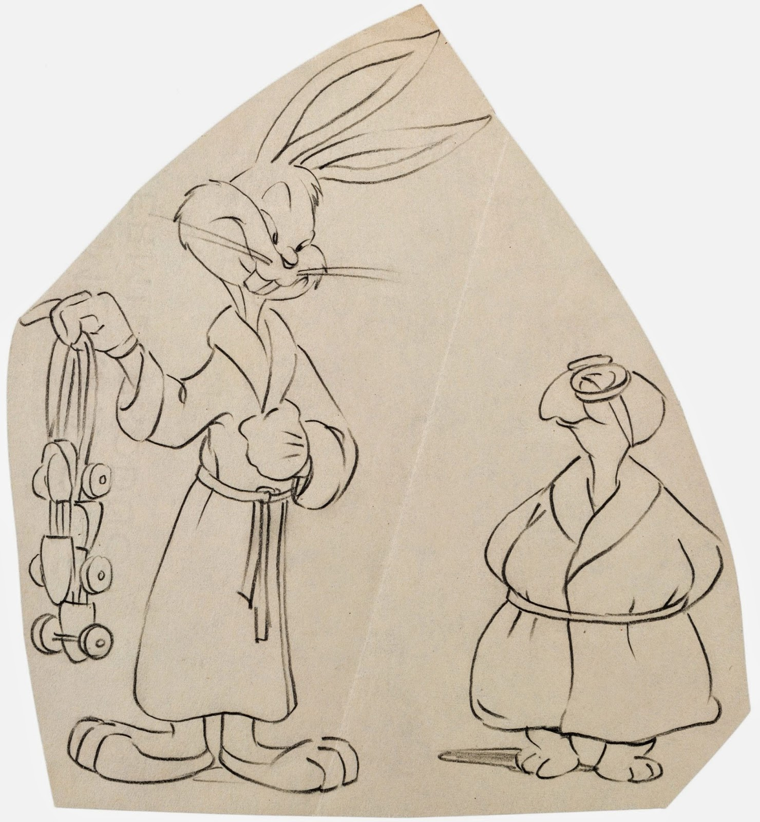 misce looney ous warner bros production art part two drawings