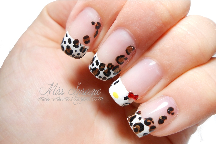 Nageldesign Leoparden Look Design Nagel