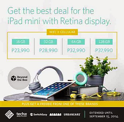 Beyond the Box iPad Mini with Retina Display