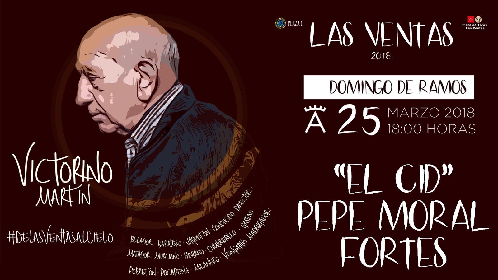 LAS VENTAS 25-03-2018 LA 1ª CORRIDA DE TEMPORADA 2018.