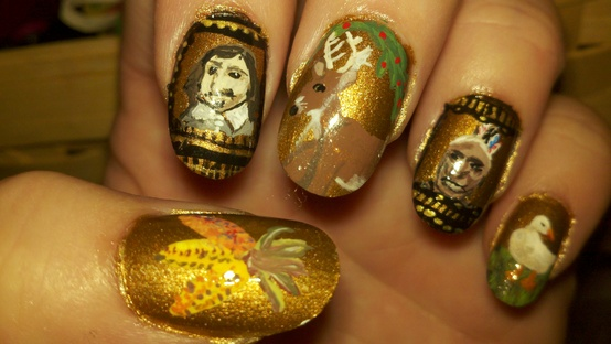 Poshthesocialite 10 awesome thanksgiving nails to rock photos check out 10 awesome thanksgiving nail to rock whether you do it yourself diy or go to your favorite nail solutioingenieria Images