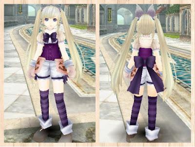 ハロウィンの衣 紫1+桃2 重量化