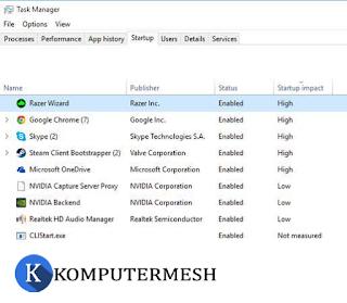 Cara Membuat Windows 10 Lebih Ringan