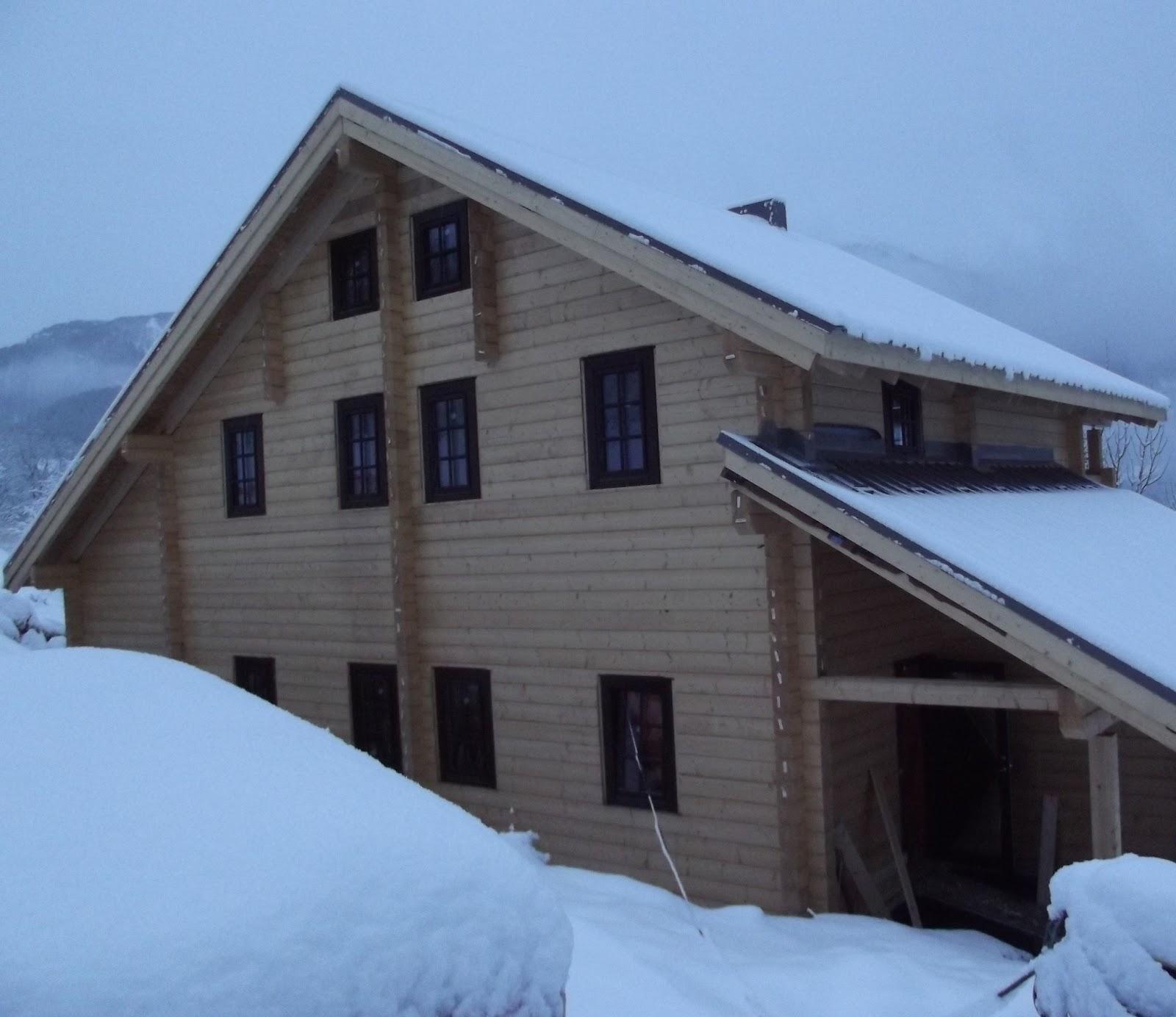 Maisons bois massif France Suisse pagnie des Chalets Exemples