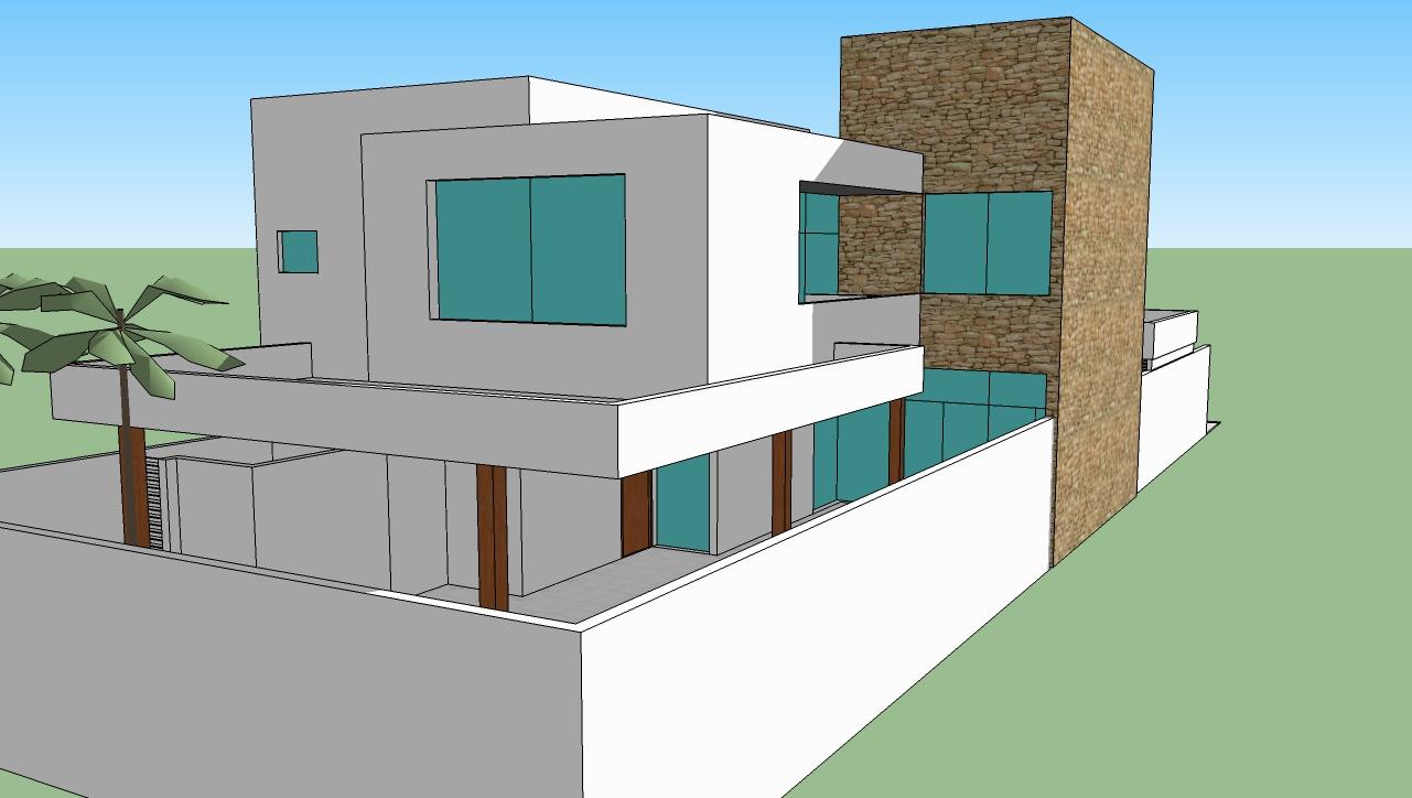 Desenhos 3d e 2d de casas julho 2011 for Casas en 2d