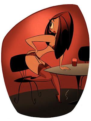 cartoon girl