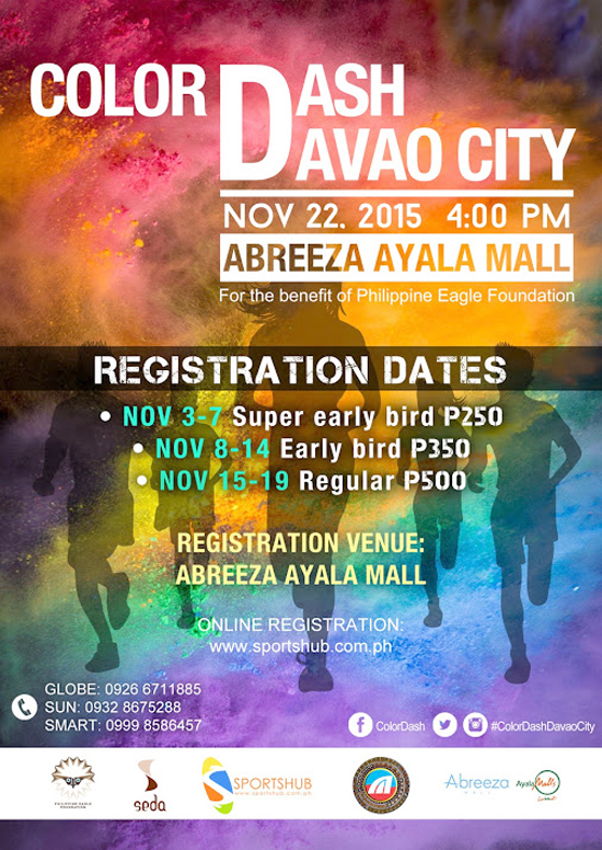 COLOR DASH 2015 IN DAVAO CITY ON NOV 22