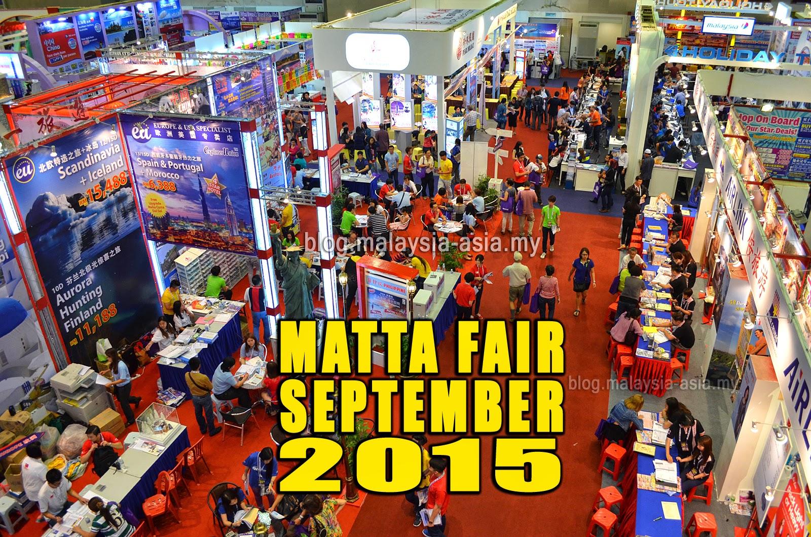 Matta fair september 2015   malaysia asia