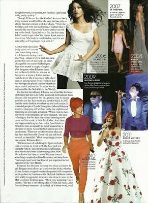 Rihanna Vogue Cover Photoshoot