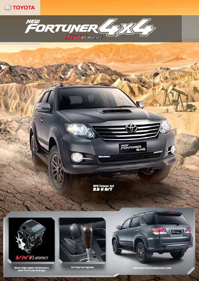 New Fortuner 4x4