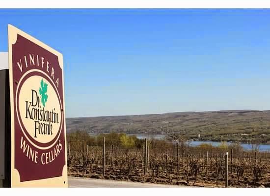 Dr. Konstantin Frank vineyards Finger Lakes
