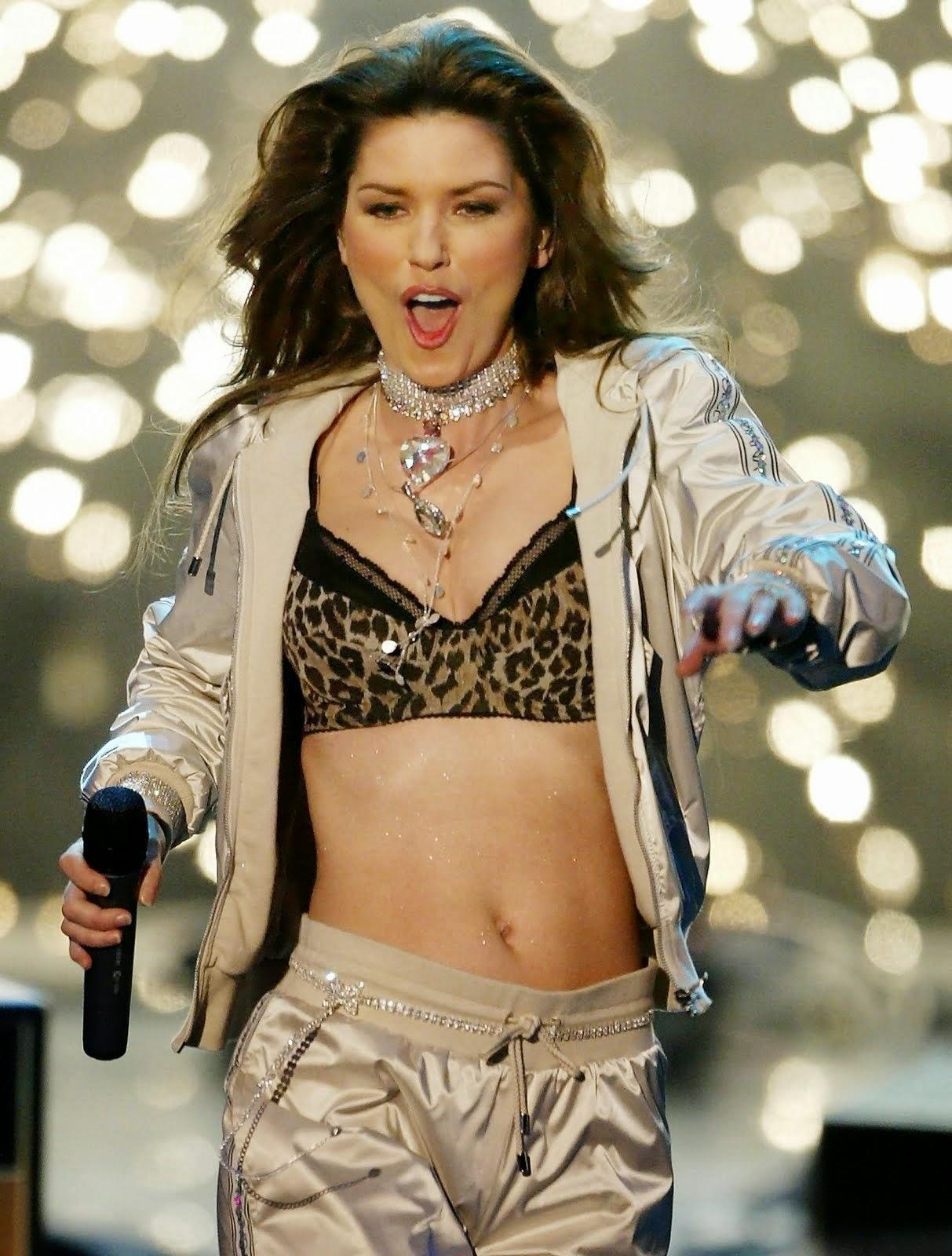 Shania Twain, la cantante más sexy del mundo en