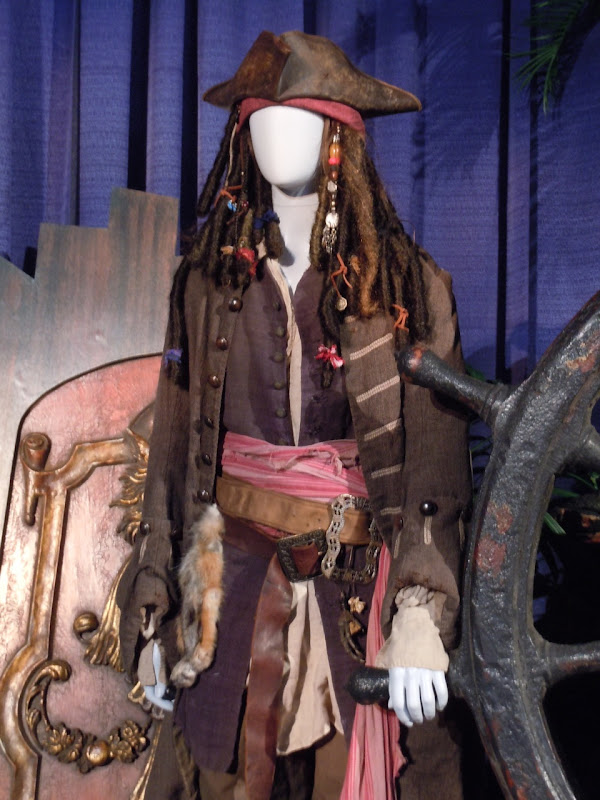 Johnny Depp Jack Sparrow Pirates of the Caribbean 3 costume