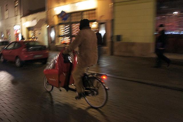 rower cargo dla dziecka w krakowie, bakfiets, cycle chic