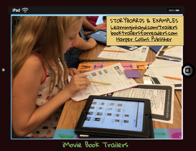 How To Make A Book Trailer On Imovie : Msedtechie st century book reports with imovie trailers
