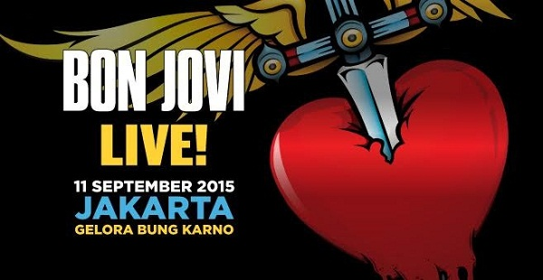 konser musik bon jovi live 2015 jakarta