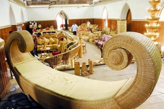 Kerala Tourism Bamboo Handicrafts From Kerala