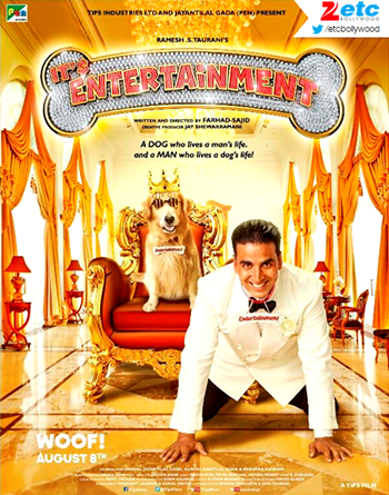 First look & the trailer of Akshay & Tamannaah starrer Its Entertainment