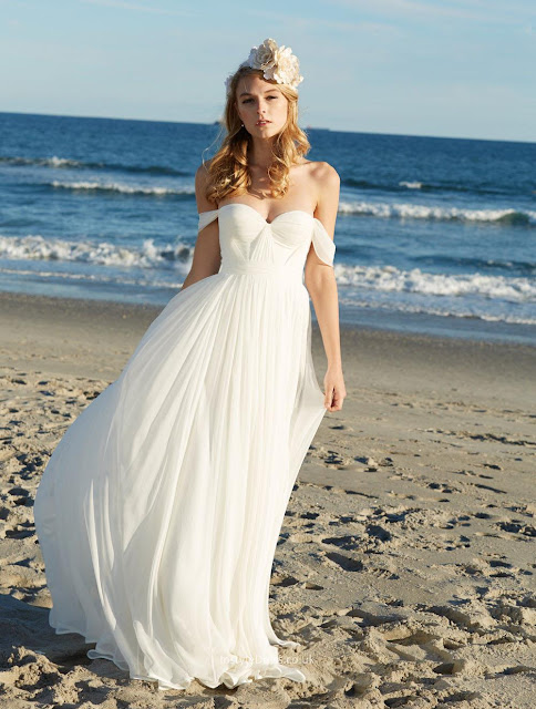 Also The Blueness Of Sea Contrasts So Well With Whiteness Any Wedding Dress It S Such A Dreamy Theme Too For Beach