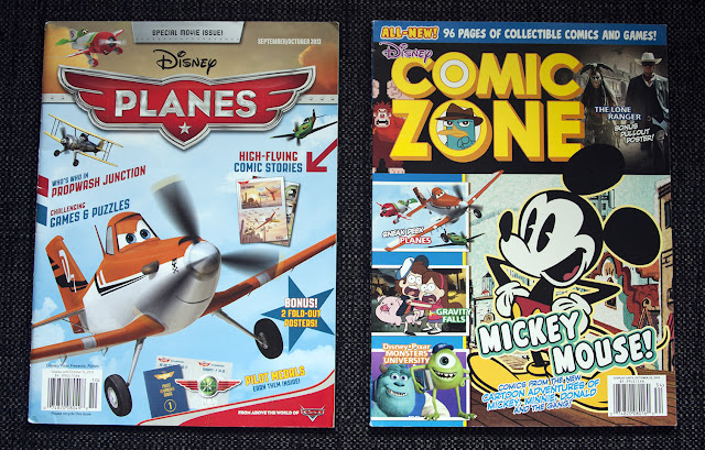 Disney/Pixar Presents: Planes and  Disney Comic Zone #2