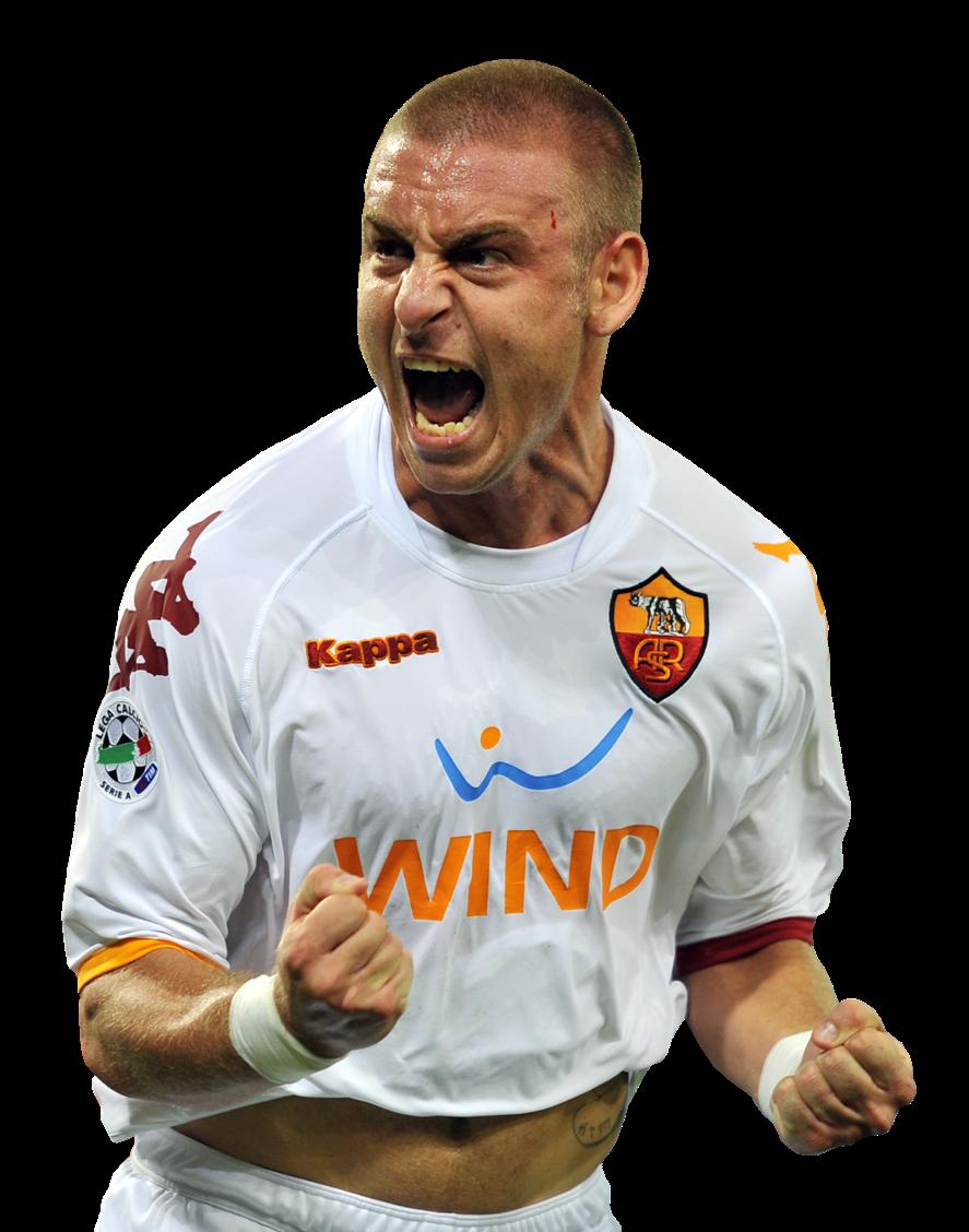 The Best Footballers Daniele De Rossi big poster Italian football