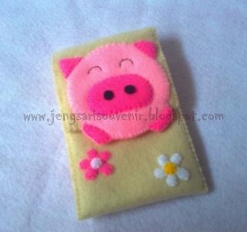 Paket Flanel Pinky Pig
