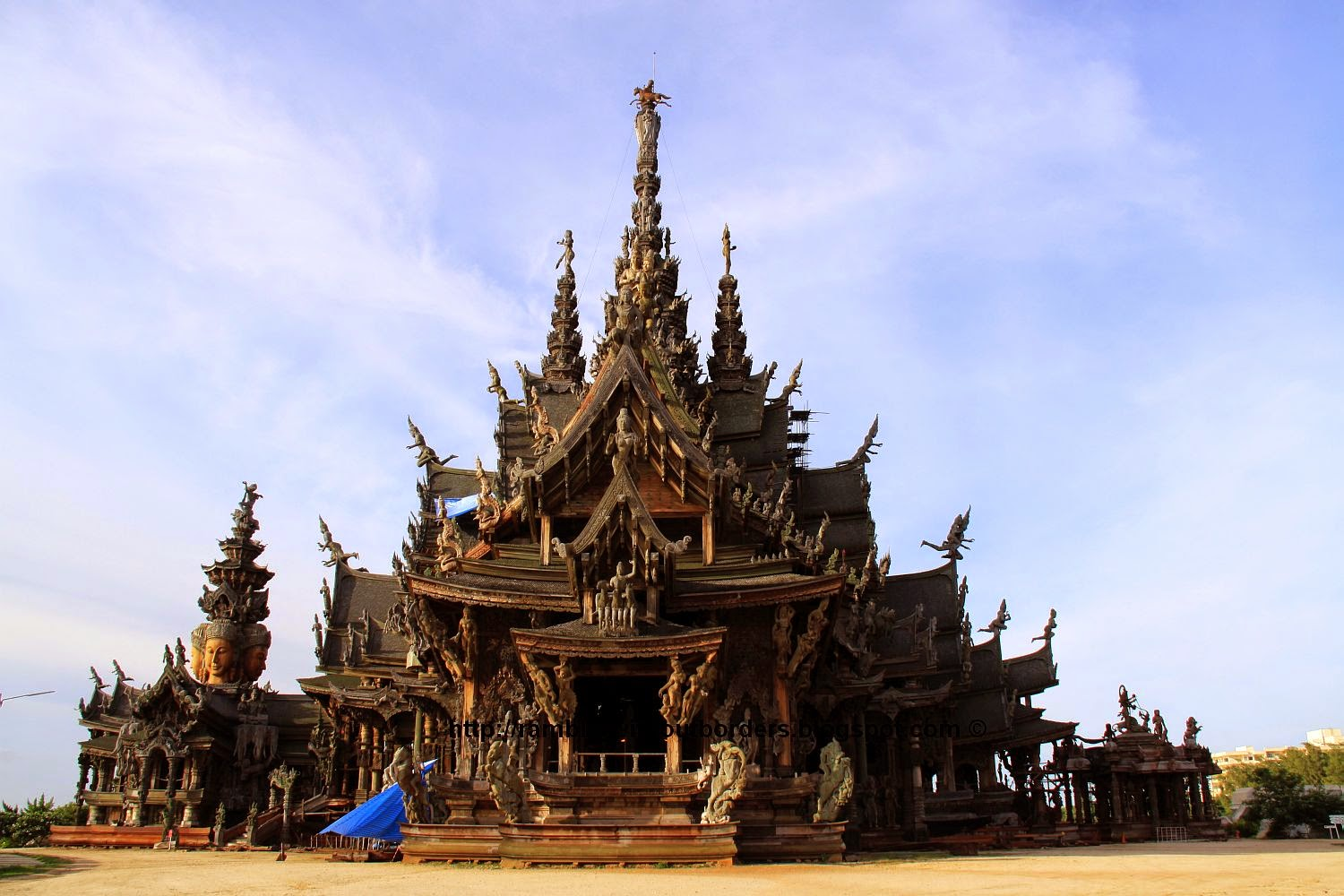 Sanctuary of Truth, Prasat satchamtham, Pattaya, Thailand