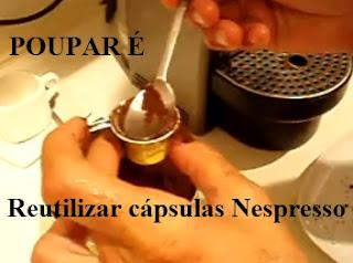Como reutilizar cápsulas Nespresso