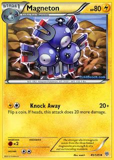Magneton Plasma Storm Pokemon Card
