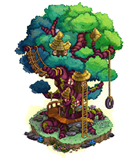 Farmville Giant Treehouse