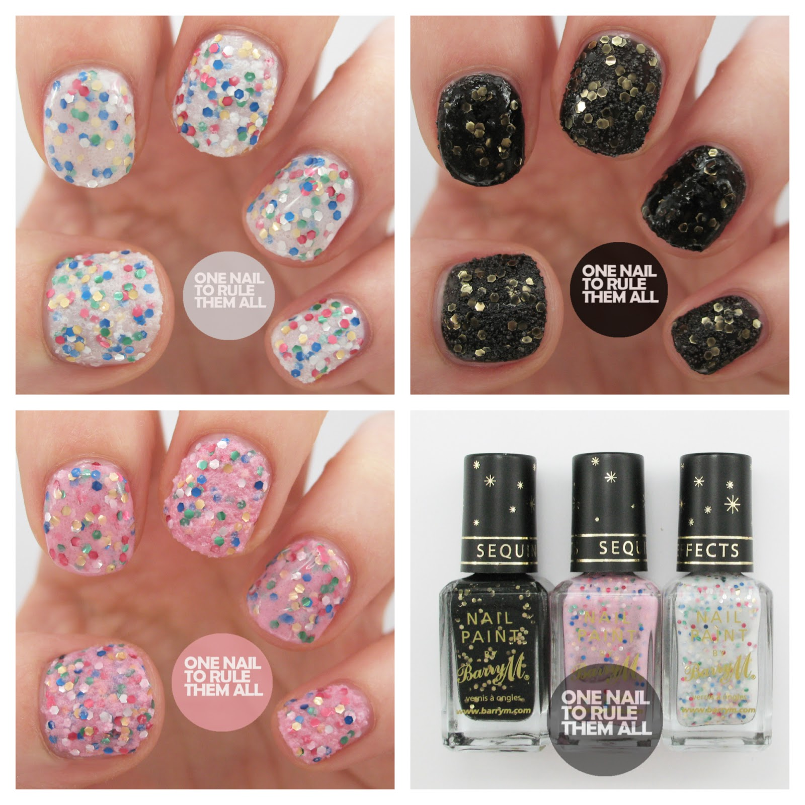One Nail To Rule Them All Barry M Sequin Nail Effects Review