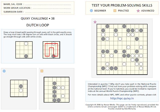 DUTCH LOOP Puzzle