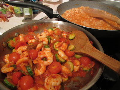 Gluten Free Italian Shrimp & Vegetable Risotto