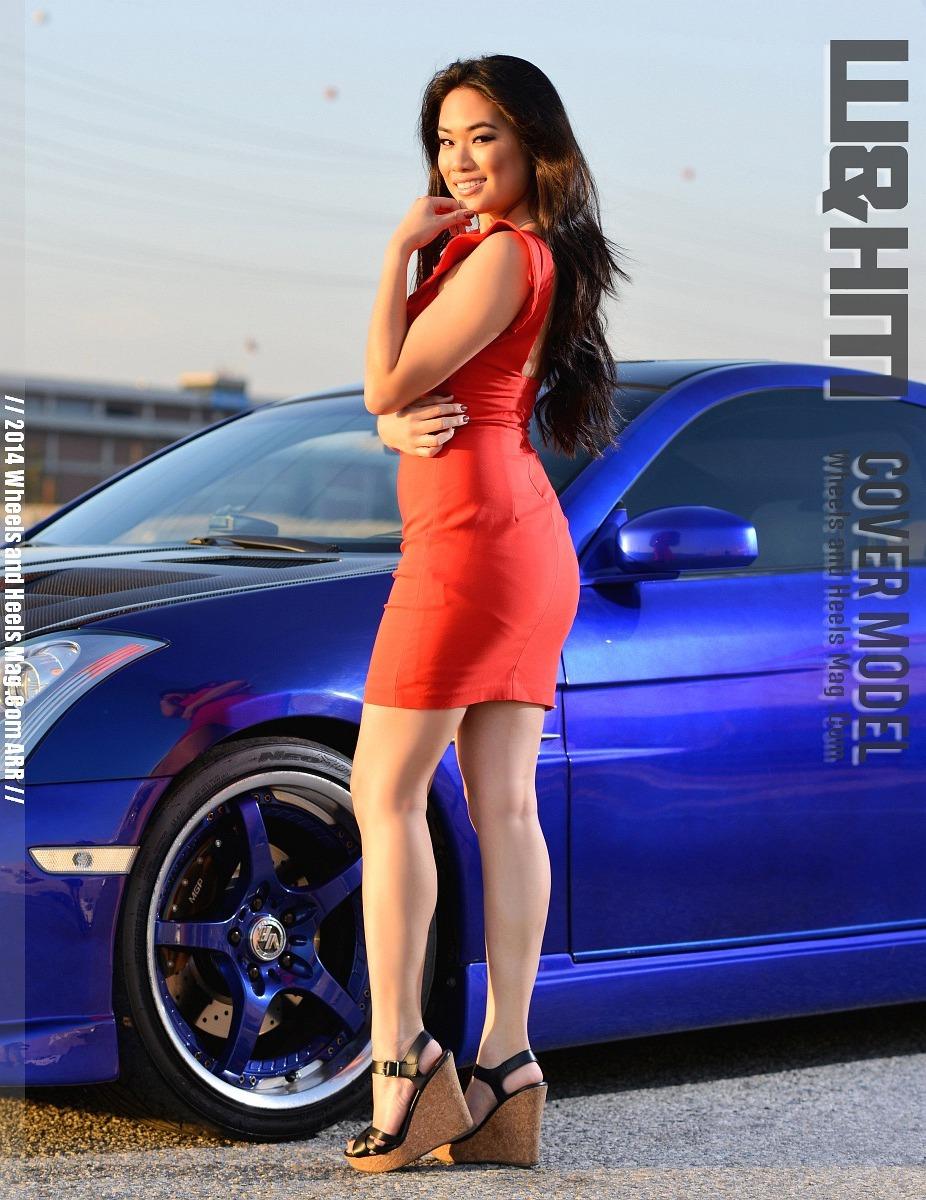 sandra mod com Sandra Wong - Wheels and Heels Mag Print Edition Issue 14 Cover Model
