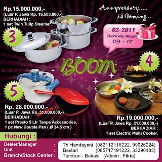 BOOM Tulipware | Maret - April 2011