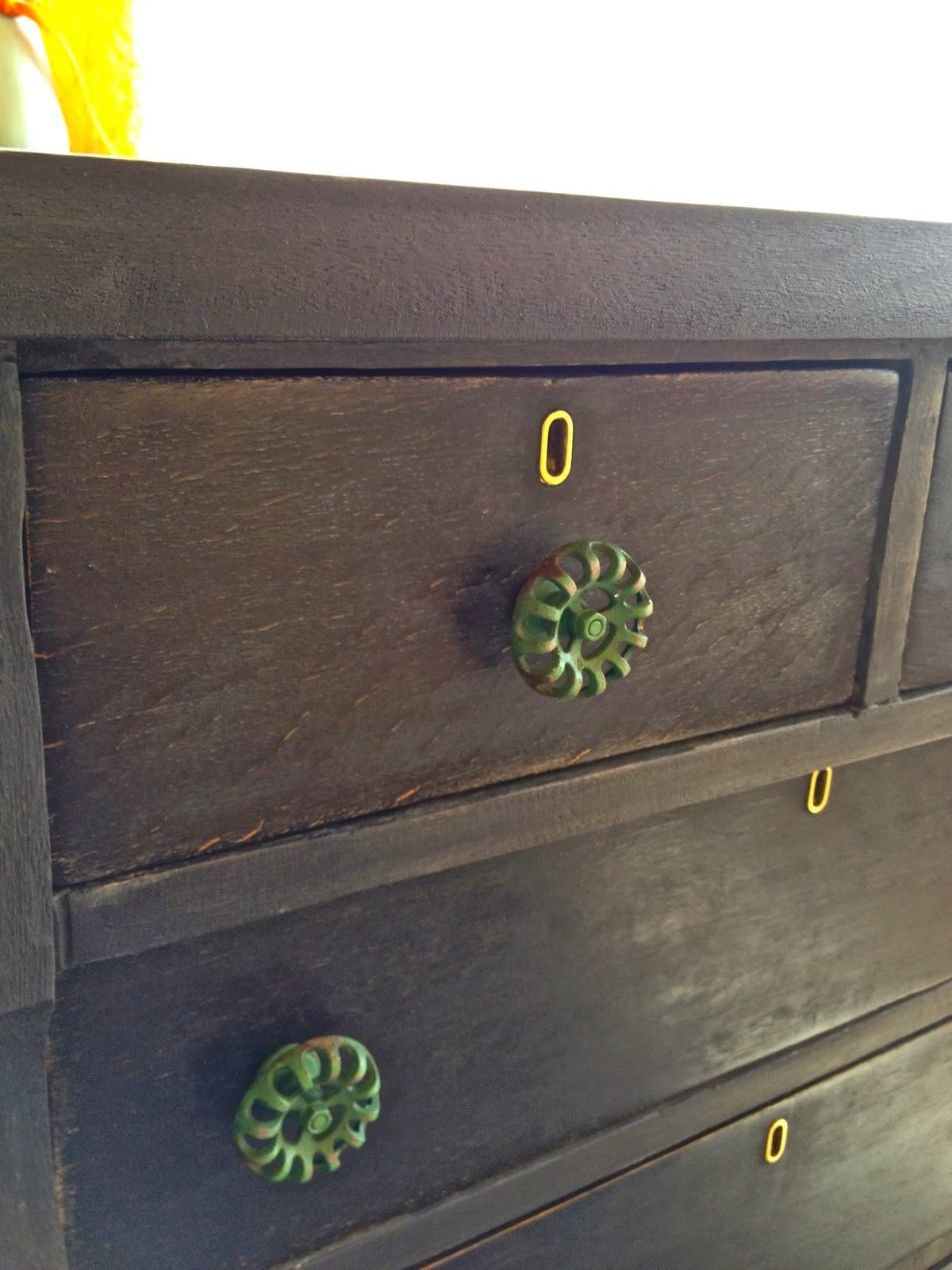 black antique dresser wizard of oz