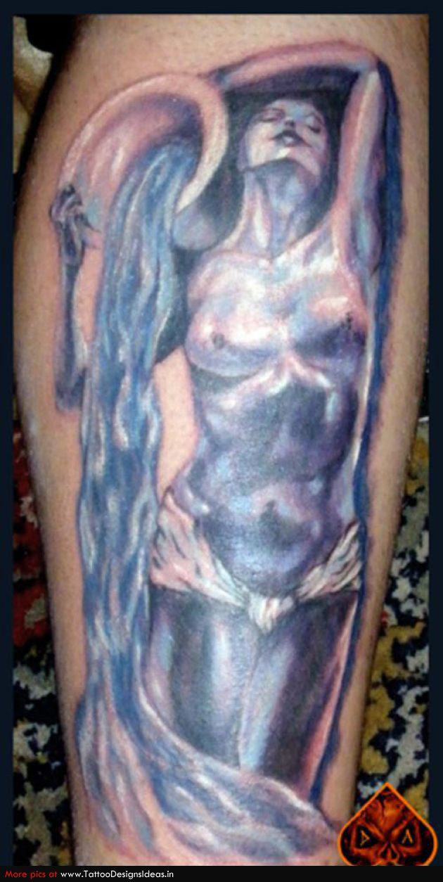 Aquarius Tattoos 5