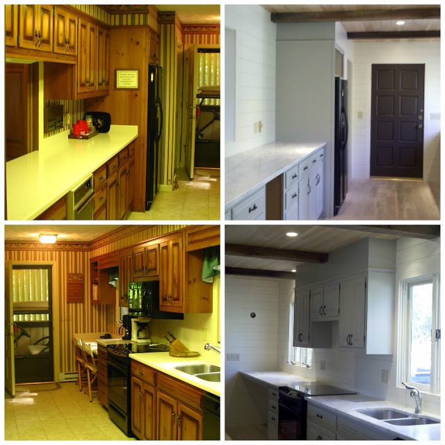 """Old Kitchen Before And After: The Old Post Road: Some """"Before And After"""" Projects"""