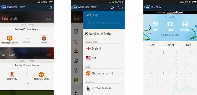 FIFA for Android Aplikasi Resmi Piala Dunia 2014